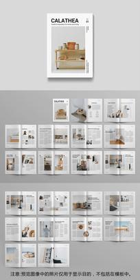 室内家具杂志模板 indd