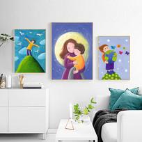儿童房卡通装饰画