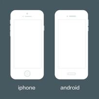 简约手机框架素材