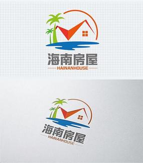 海南风情旅游房地产标志