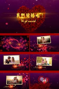 婚礼相册PR视频模板