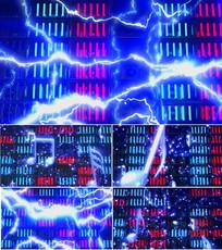 慢摇迪厅电音舞台背景视频