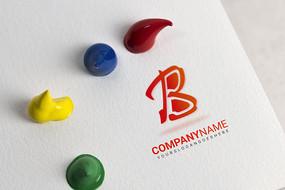 B字母logo设计