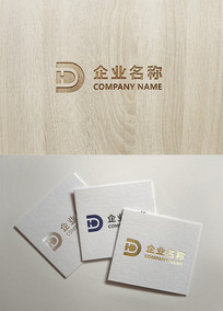 ID HD字母logo设计 AI