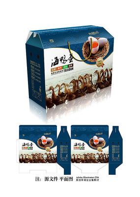 海鸭蛋包装设计