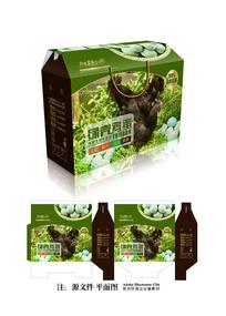 绿壳鸡蛋礼盒包装