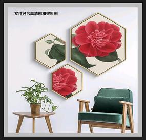 手绘花卉装饰画