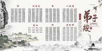 中华传统国学经典文化弟子规展板