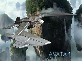 阿凡达科幻战机模型