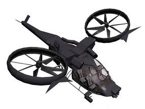 阿凡达涡轮战斗直升机含贴图