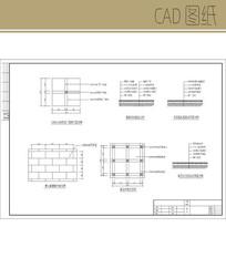 地面铺装样式CAD CAD
