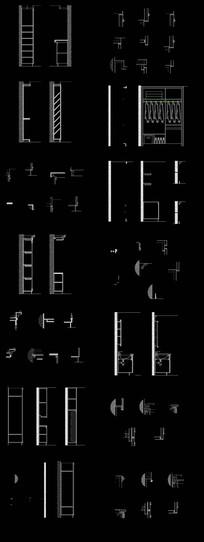 柜体详图CAD