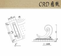 海浪雕塑设计CAD