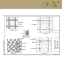 花岗岩铺装详图 CAD