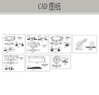 花坛小品施工图 CAD