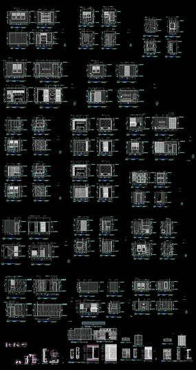家居装饰CAD立面图集