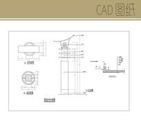 景观灯柱CAD CAD