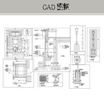 欧式景观灯具 CAD