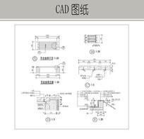平台座椅CAD dwg