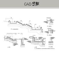 入口叠水水池 CAD