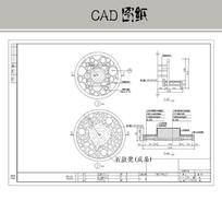 石鼓凳详图 CAD