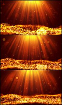 唯美绚丽粒子海LED视频背景