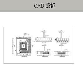 异形树池 CAD