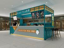 茶饮店3D模型