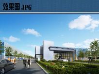 产业园入口大门效果图 JPG