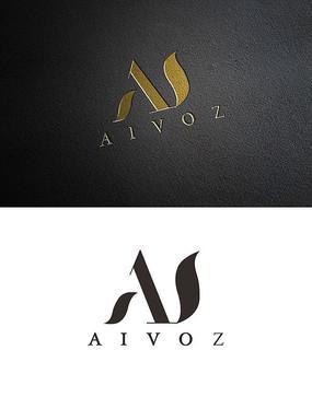 公司字母logo模板