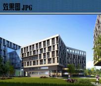 科教园区建筑效果图 JPG