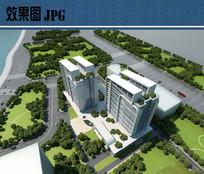 科技大楼鸟瞰图 JPG