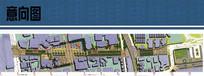 商业步行街景观平面图 JPG