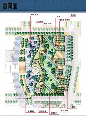 小游园景观设计平面 JPG