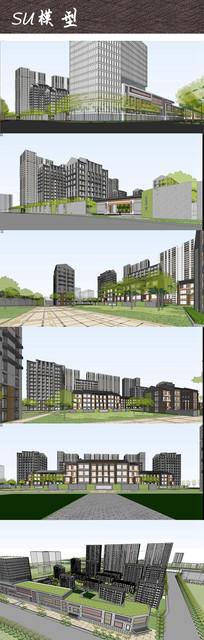 住宅区建筑景观