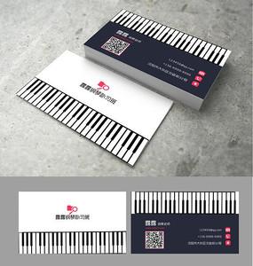 创意钢琴教育名片