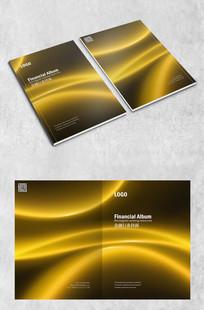 低调金融高端封面 PSD