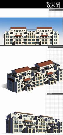 苏州某住宅规划花园洋房