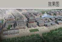古城建筑鸟瞰图