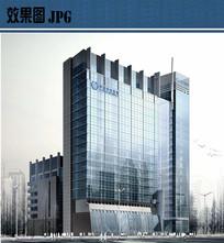 中国移动大楼效果图