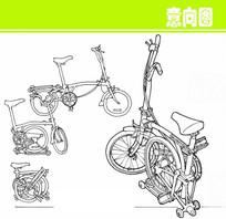自行车素描