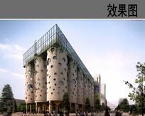 工业园区建筑改造效果图 JPG