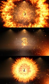 火焰冲击波5秒倒计时视频