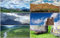 西藏新疆风光人文视频素材