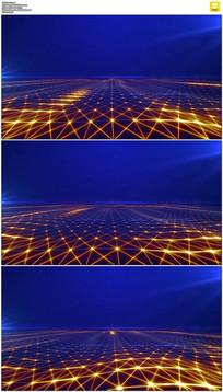 星空粒子波浪背景视频