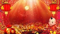 喜庆春节开场视频