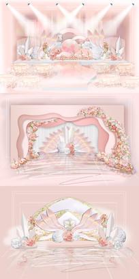 手工花主题婚礼设计