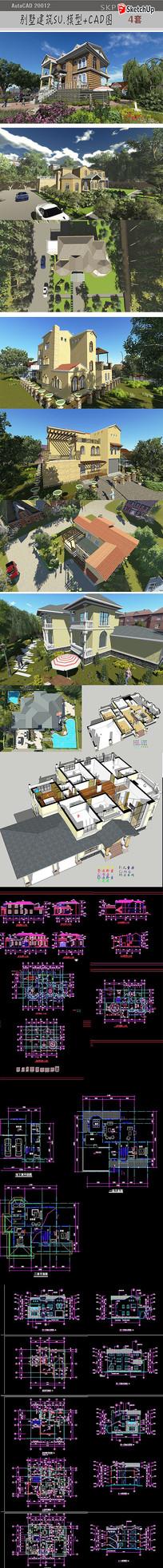 别墅建筑设计图纸