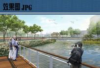 滨水平台效果图