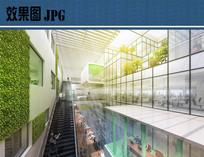 产业园建筑室内空间效果图